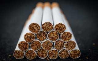 Через сколько лет курения развивается рак легких?