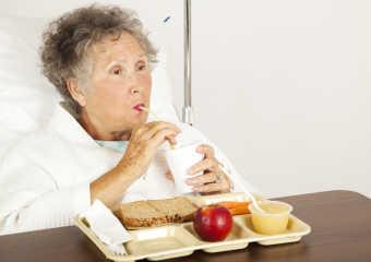 Правильный рацион питания при раке лёгкого