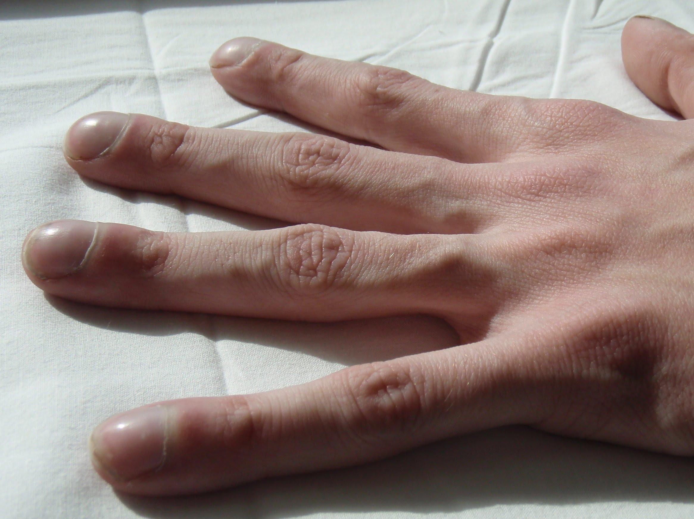 Пальцы - барабанные палочки